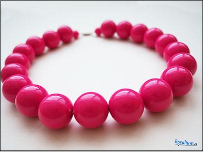 011 Růžové retro korále
