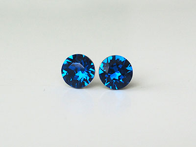 164 Náušnice Xirius Capri Blue
