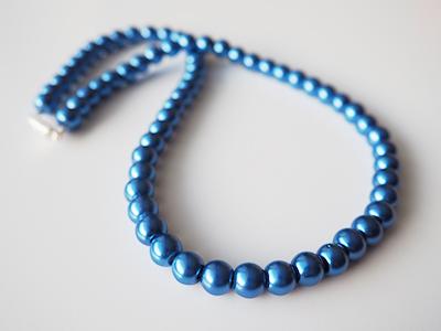 2033 Korále leskle modré